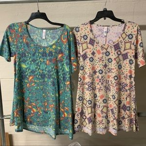 Two LuLaRoe Perfect T's NWT